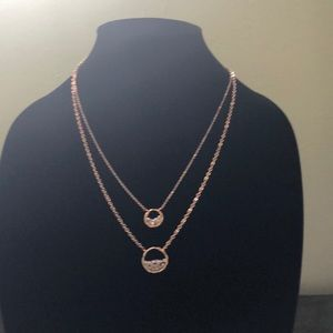 Panacea double layered necklace